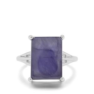 Thai Sapphire Ring in Sterling Silver 12.75cts