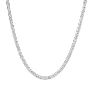 """24"""" Sterling Silver Tempo Foxtail Chain 5.66g"""