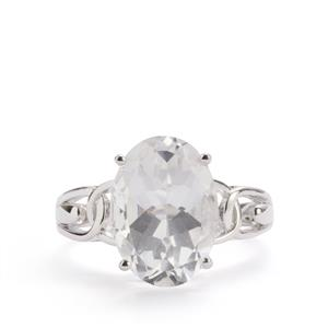 Itinga Petalite Ring in Sterling Silver 5.13cts