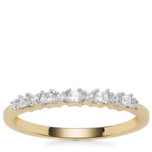 Ratanakiri Zircon Ring in 9K Gold 0.23ct