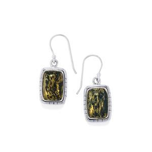 15ct Apache Gold Pyrite Sterling Silver Aryonna Earrings