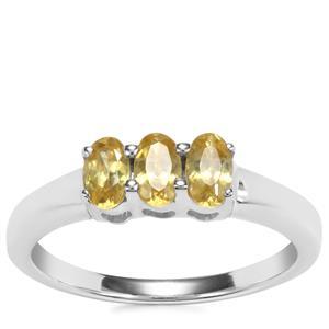 Ambilobe Sphene Ring in Sterling Silver 0.75ct