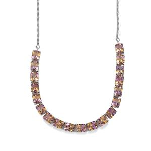 53.96ct Anahi Ametrine Sterling Silver Necklace