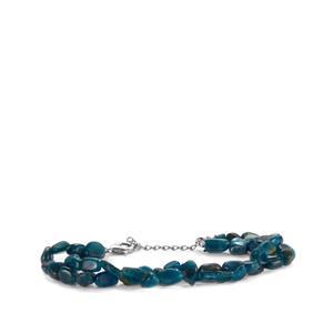 70ct Apatite Sterling Silver Bracelet