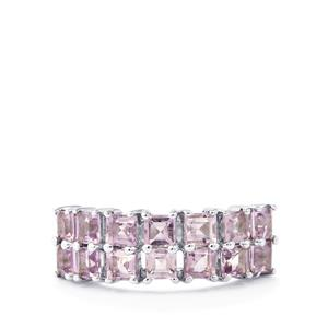 1.94ct Rose De France Amethyst Sterling Silver Ring