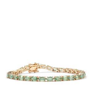 11ct Odisha Kyanite 9K Gold Tomas Rae Bracelet