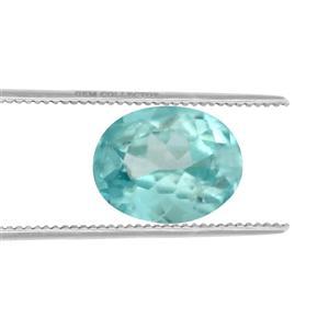 Ratanakiri Blue Zircon Loose stone  0.45ct