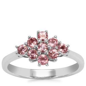 Kaffe Tourmaline Ring in Sterling Silver 0.59ct