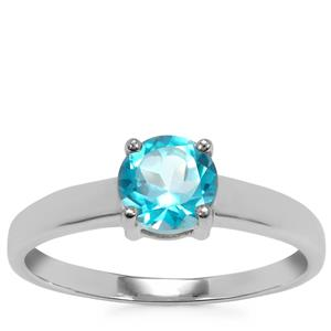 Batalha Topaz Ring in Sterling Silver 1cts