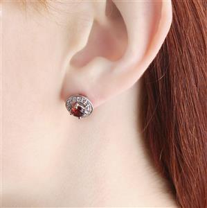 Kaleidoscope Gemstones 7 Stud Interchangeable Jacket Earrings in Sterling Silver 7.82cts