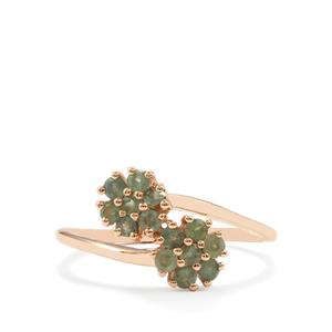 0.55ct Alexandrite 9K Gold Ring
