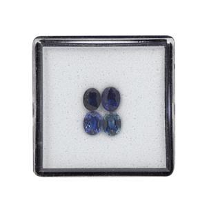 Australian Blue Sapphire Gem Box 1.28cts