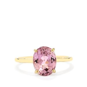 Mawi Kunzite Ring in 10K Gold 3.61cts