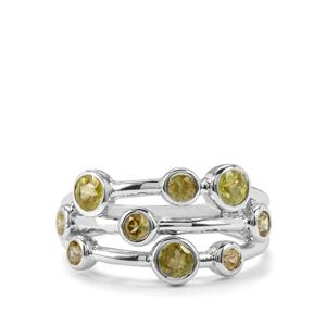 Ambilobe Sphene Ring in Sterling Silver 1.60cts