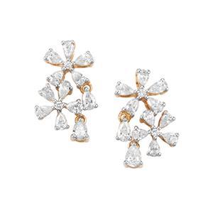 1.75ct Diamond 18K Gold Lorique Earrings