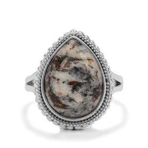 8ct Astrophyllite Sterling Silver Aryonna Ring