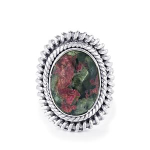 9ct Eudialyte Sterling Silver Aryonna Ring