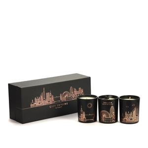Skyline Candle Collection - London Candle with Black Obsidian ATGW 20cts