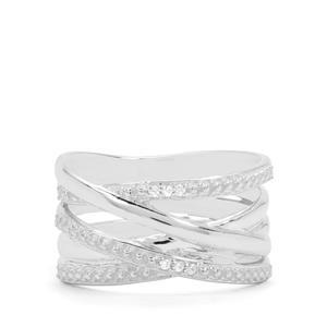 Ratanakiri Zircon Sterling Silver Forever Ring
