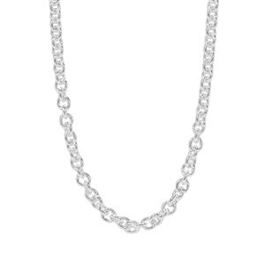 """24"""" Sterling Silver Classico Cable Chain 4.43g"""
