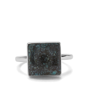 4.31ct Lhasa Turquoise Sterling Silver Aryonna Ring