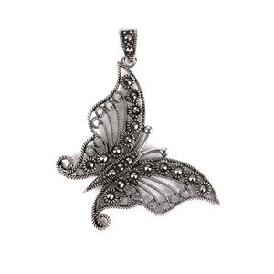Natural Marcasite Jewels of Valais Pendant in Sterling Silver 0.32ct