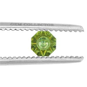 1.50ct Quasar Cut Fern Green Quartz (U)