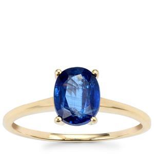 Daha Kyanite Ring  in 10k Gold 1.71cts