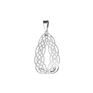 Sterling Silver Bayeux Pendant 0.97g