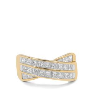 1.75ct Diamond 9K Gold Tomas Rae Ring