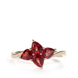 Winza Ruby Ring in 9K Gold 1.56cts