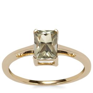 Csarite® Ring in 10K Gold 1.07ct