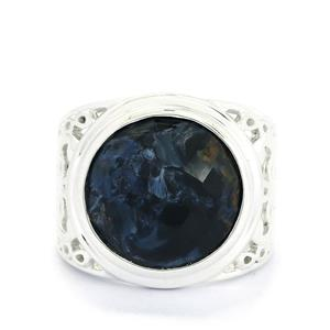 8.50ct Pietersite Sterling Silver Ring