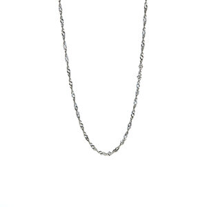 """24"""" Sterling Silver Classico Twisted Curb Chain 2.74g"""