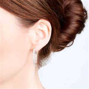 Diamond Earrings in 9K Gold 1ct