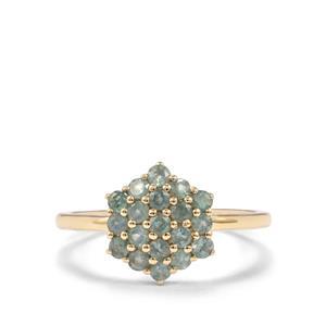Alexandrite Ring in 10K Gold 0.78ct
