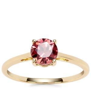 Zanzibar Zircon Ring in 9K Gold 1.34cts