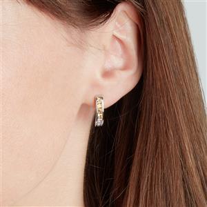 Songea Rainbow Sapphire Earrings in Sterling Silver 1.70cts