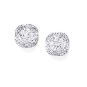 Diamond Earrings in 18k Gold 0.51ct