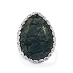 18ct Picasso Jasper Sterling Silver Aryonna Ring