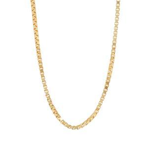 """24"""" Midas Couture Diamond Cut Venetian Slider Chain 1.87g"""