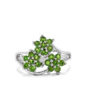 Chrome Diopside Ring in Sterling Silver 1.23cts