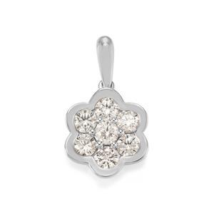 3/4ct Diamond Platinum 950 Tomas Rae Pendant