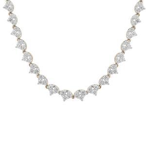 2ct Argyle Diamond 9K Gold Necklace