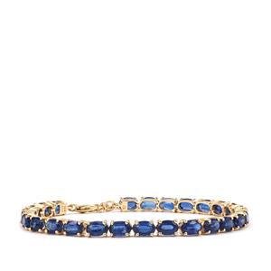 Daha Kyanite Bracelet in 10K Gold 16.17cts
