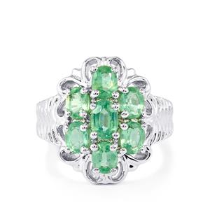 3.20ct Nuagaon Kyanite Sterling Silver Ring