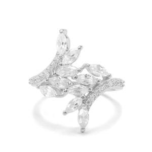 2.17ct Ratanakiri Zircon Sterling Silver Ring