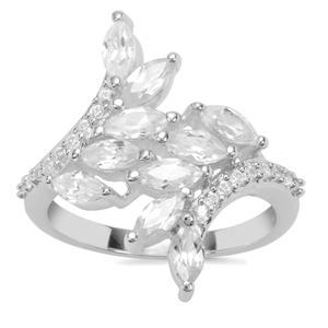 Ratanakiri Zircon Ring in Sterling Silver 2.17cts