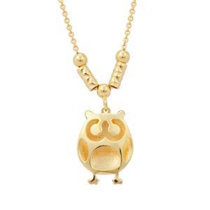 "18"" Midas Altro Owl Necklace 2.89g"