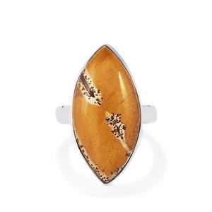 Sonora Dendrite Ring in Sterling Silver 12.50cts